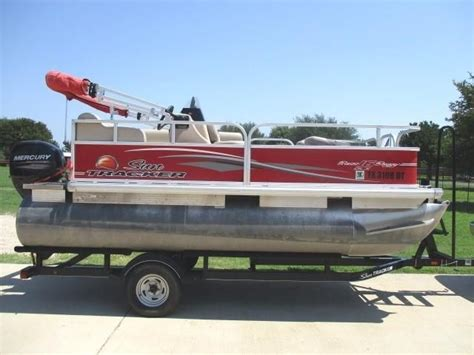 used pontoon boat for sale dallas 2016 used sun tracker bass buggy 16 dlx pontoon boat for