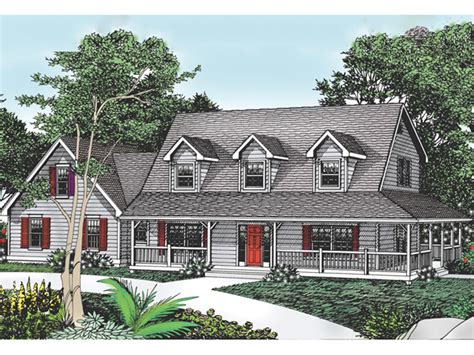 cottage hill cape cod style home plan 015d 0045 house