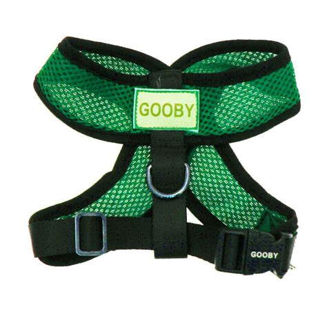 gooby harness comfort harness by gooby green baxterboo