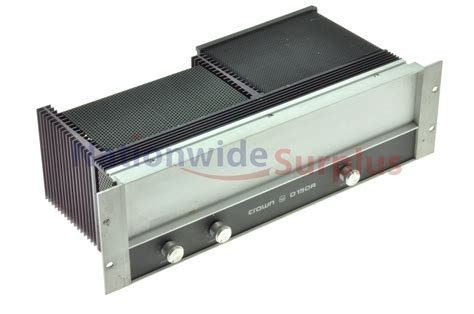 Power Lifier Crown crown d150 integrated circuit stereo lifier 28 images