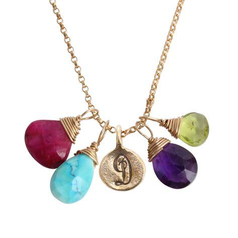 Birthstone Jewelry by Jewelry With Birthstones Thin
