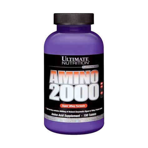 Weight Gainer Ultimate Nutrition Liquid Amino 1 Litre Supplements ultimate nutrition amino 2000 150 tabs pembentukan massa otot suplemen fitness elevenia
