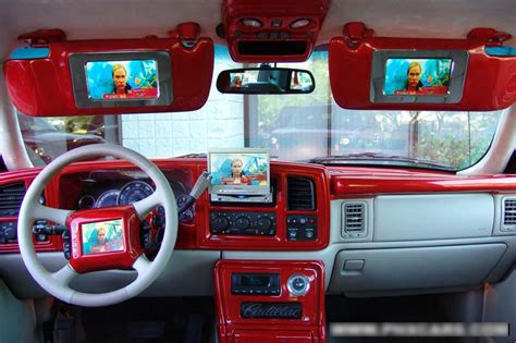Custom Cadillac Escalade Interior by 2002 Cadillac Escalade Ext Custom Show Truck 44392