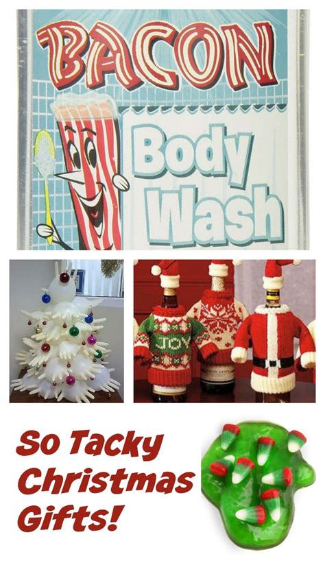 oh so tacky christmas gifts craftwhack