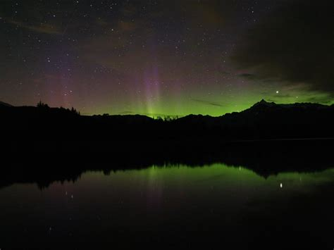 Northern Lights Washington State by Photos By Wade Clark
