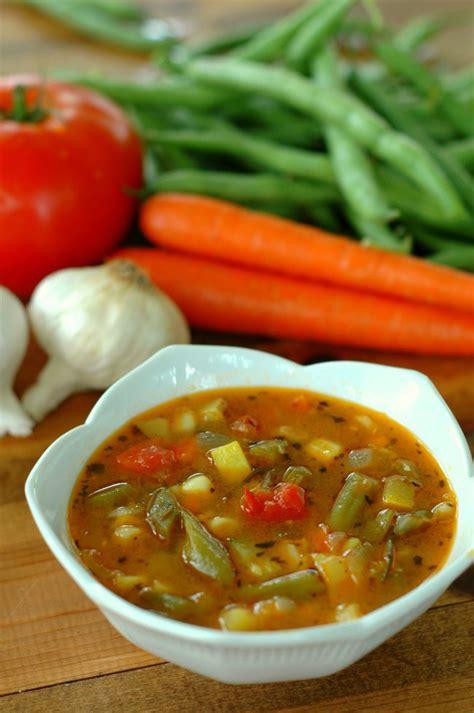 Garden Vegetable Soup How To Make Garden Vegetable Soup