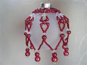 items similar to christmas ornament beaded ornament