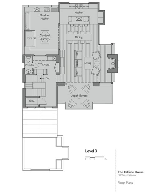 Hillside Floor Plans by California Hillside House Plans House Design Ideas