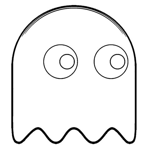 pacman ghost coloring page pac man ghostly adventures coloring pages coloring home