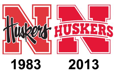of nebraska lincoln bookstore changes to logo getting rid of huskers script