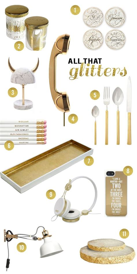 Gold Desk Accessories 17 Best Ideas About Gold Office Accessories On Pinterest Black White Rooms Gold Desk