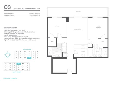 axis floor plans axis brickell 016 c3 floorplan af real estate