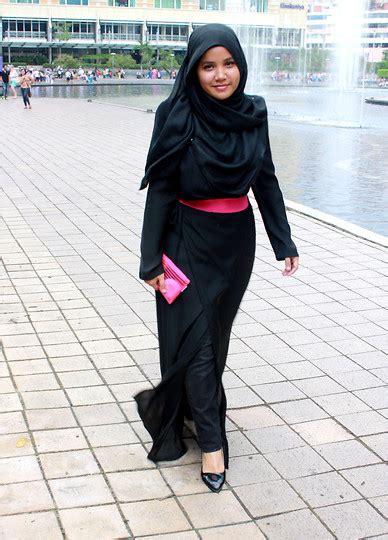 Wedges Wanita Gabino Selma Black aishah amin h m pashmina maysaa kimono wrap dress