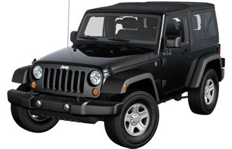 jeep wrangler 2 door soft top 2012 jeep wrangler 2 door 4 seat softtop suv priced under