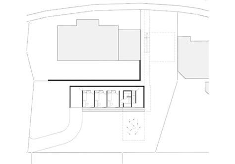 haus im hang grundriss haus mit r 252 ckgrat modernes einfamilienhaus nachverdichtung