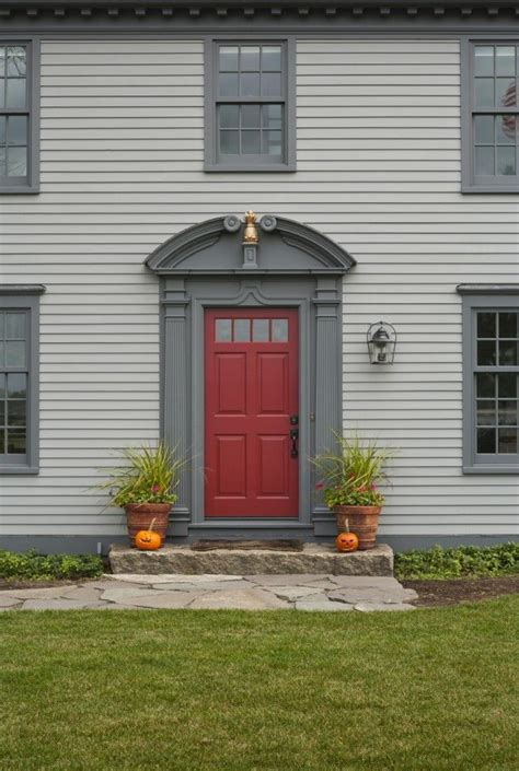 door accent colors for greenish gray 17 best images about grandma papa on pinterest red front