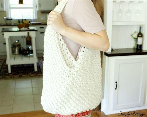 knitting pattern knitting bag large knit bag pattern simplymaggie com