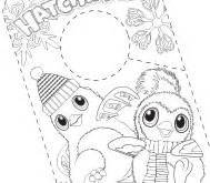 Hatchimals  Who Will You Hatch sketch template