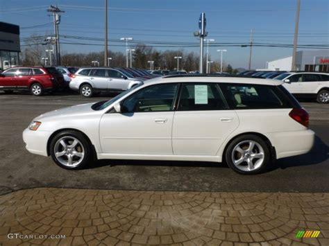 white subaru wagon satin white pearl 2007 subaru legacy 2 5i wagon exterior