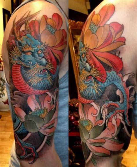 tattoo oriental hombro tatuaje hombro japoneses drag 243 n por orient soul