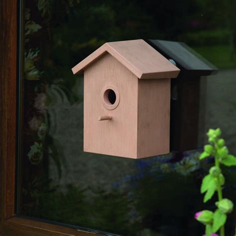 greenhurst easy view bird box pack of two garden street