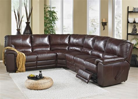 Elran Leather Sofa by Elran Sectional Room Concepts