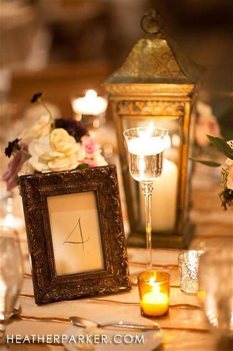 gold lantern centerpieces wedding calligraphy ideas paperblog