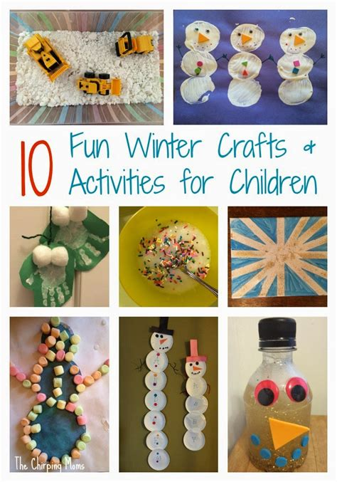 snow day crafts for survive the snow day easy winter crafts