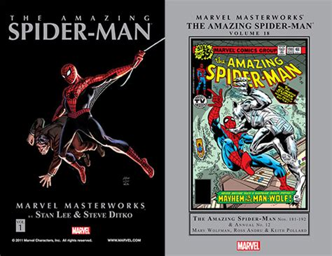 marvel masterworks the amazing spider volume 1 new printing comicscodes free dc and marvel comics