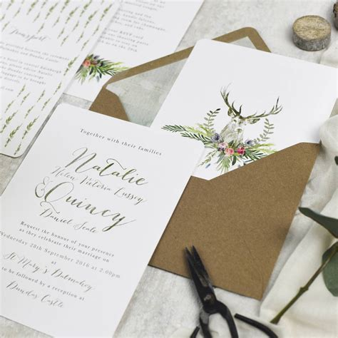 wedding invitations high armadale highland wedding invitations more colours by eastwood notonthehighstreet