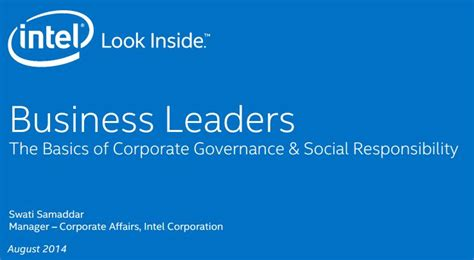 Mib Mba Delhi by Corporate Governance And Social Responsibility The Mib
