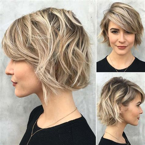 how to acheive featherd out bangs 55 incredible short bob hairstyles haircuts with bangs