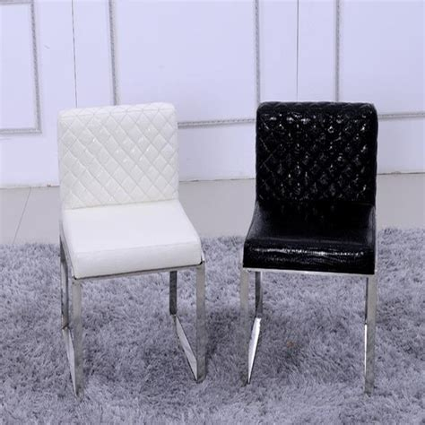 Cheap White Leather Dining Chairs Get Cheap White Leather Chair Aliexpress Alibaba