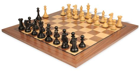 chess board walnut book style with staunton chessmen brown new exclusive staunton chess set in ebonized boxwood with