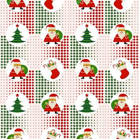 christmas pattern seamless seamless christmas pattern with santa claus and christmas