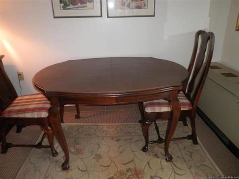 Drexel Heritage Chairs For Sale by Drexel Heritage Dining Table And Chairs For Sale Classifieds