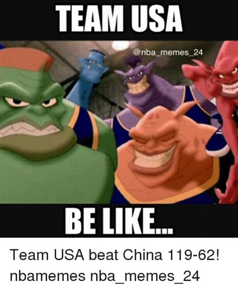 Usa Memes - team usa memes 24 be like team usa beat china 119 62