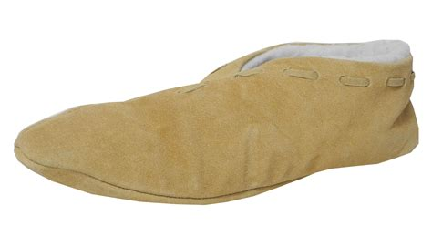 house shoes in spanish boys ladies suede leather faux sheepskin lined shoes spanish slippers size 3 9 ebay