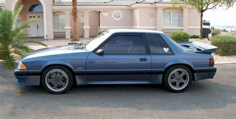 blue saleen mustang shadow blue 1989 saleen ford mustang coupe