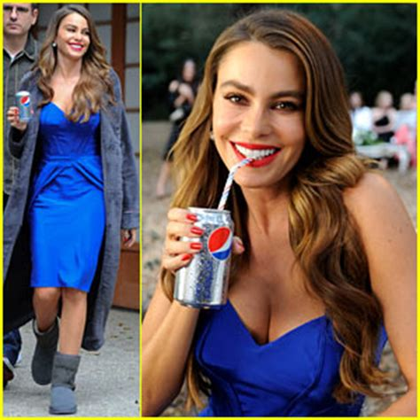 pepsi commercial larry actress sofia vergara diet pepsi commercial shoot sofia