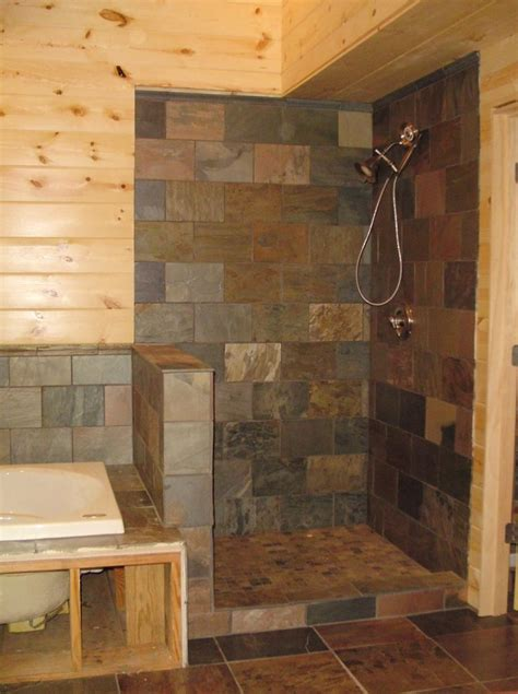 Showers Without Glass Doors Walk In Showers Without Doors Walk In Shower Pictures Lnl Construction Llc 47204 Jpg