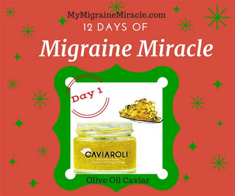 my migraine miracle you re my migraine miracle 12 days of migraine miracle product
