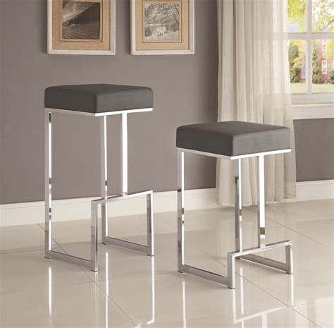 counter height dining chairs contemporary counter height coaster dining chairs and bar stools 105252 contemporary