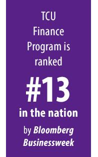 Tcu Mba Placement by Finance Tcu The Neeley School Of Business