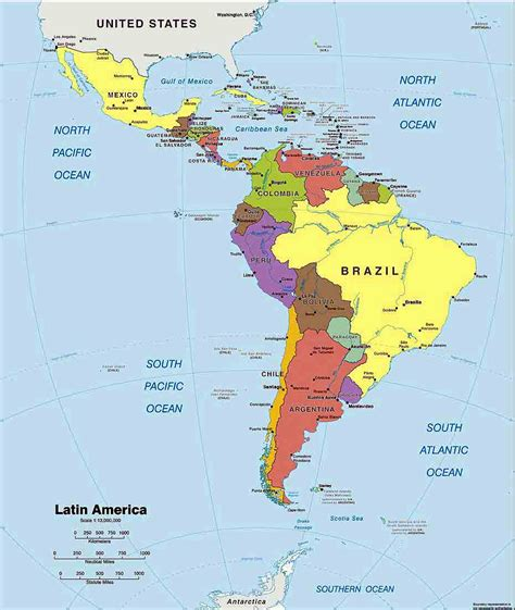 map of south american countries and capitals