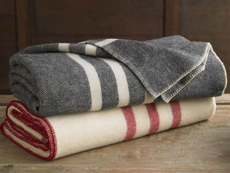 decke aus wolle striped wool blanket 100 free shipping