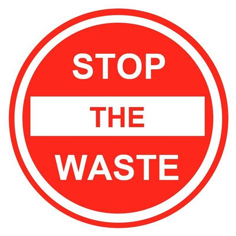 the stop stop the waste stw2day