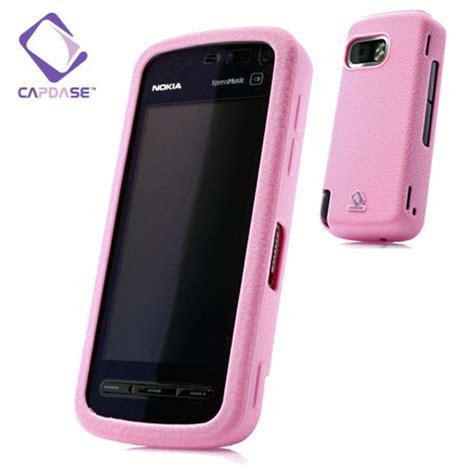 Casing Hp Nokia 5800 Xpressmusic capdase soft frame skin nokia 5800 xpressmusic pink reviews