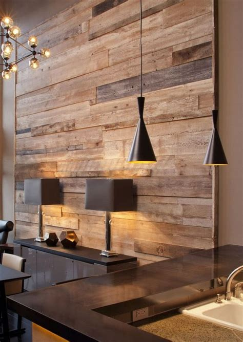 reclaimed wood divider 30 jaw dropping wall covering ideas for your home digsdigs