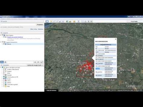 tutorial arcgis georreferenciamento interoperabilidade visualizando dados do sql server